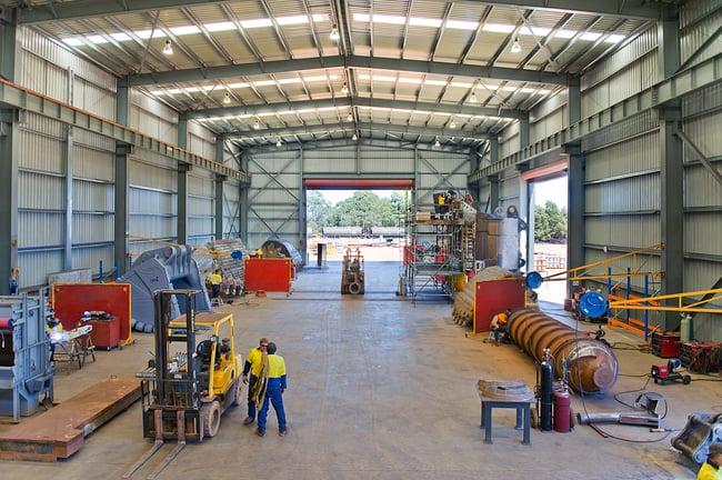 Inside Schlam Workshop