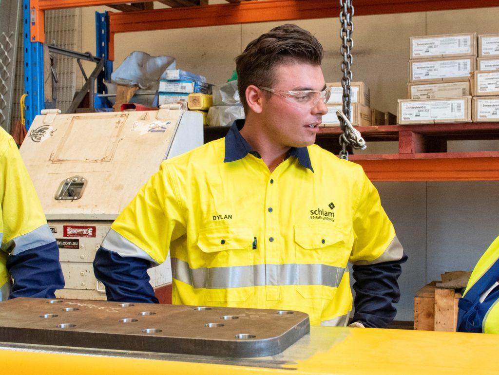 Dylan Jenkins in PPE