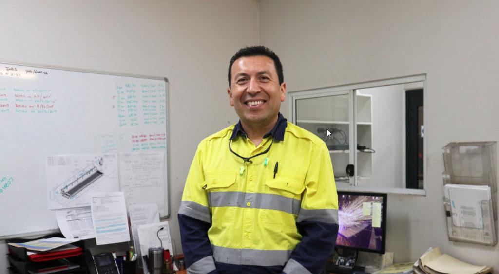 Manuel Leiva in PPE